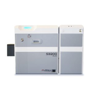S3200DUO financial retransfer card printer with dual feeder