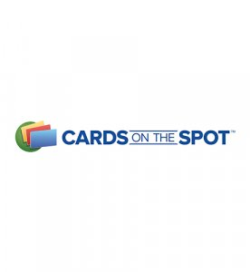 cards on the spot