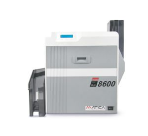 Microprint ultra high resolution card printing XID8600