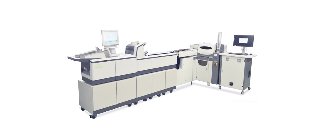 All-in-one card mailing systems