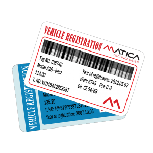 Vehicle Registration Cards