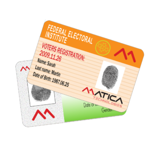 Voters Registration Cards