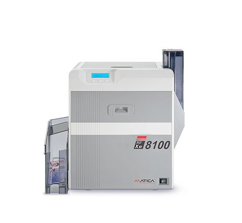 PVC card printer XID8100